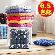 Cushion chair cushion office soft cushion cotton thickening student female classroom dormitory stool ass butt pad home