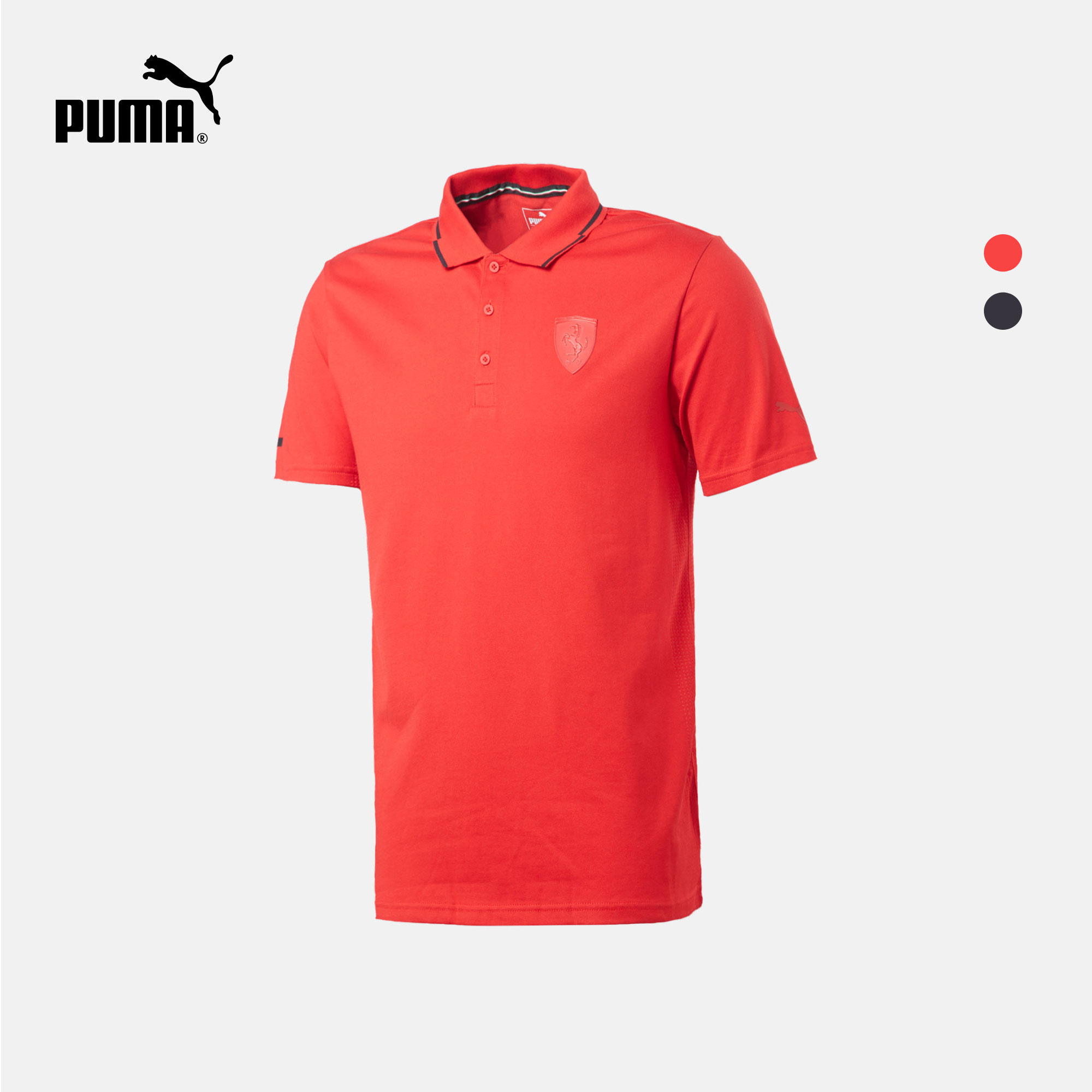 PUMA彪马官方 男子短袖 Polo 衫 PUMA X FERRARI 571204