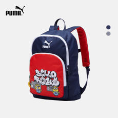 PUMA Hummer Official Teen Colorblock Pattern Backpack PUMA X MINIONS 075041