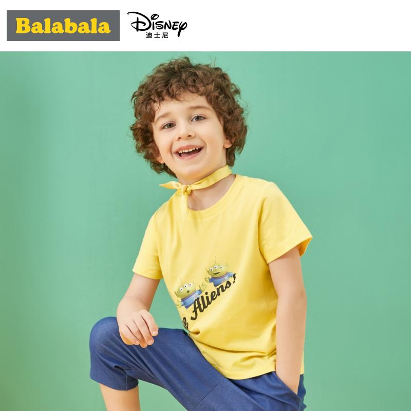 【玩具总动员IP款】巴拉巴拉童装儿童演出服t恤男童夏装新款宝宝
