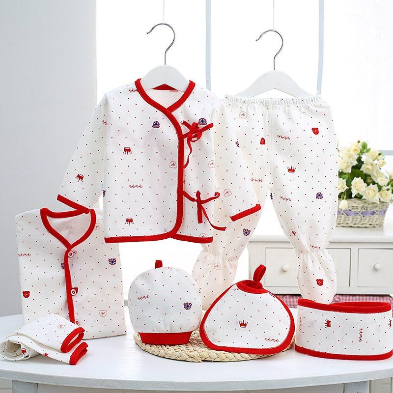 秋冬新款婴儿衣服纯棉新生儿礼盒初生满月宝宝母婴用品刚出生套装