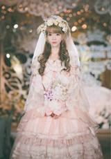 Shooting BABY Peace Spring Tea Party Gorgeous Dress Japanese Soft Molly Lolita Dress Lolita