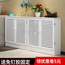 Fixed floor water separator cover cabinet decorative box radiator cover cabinet router cabinet weak meter box cover