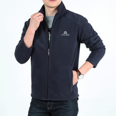 Battlefield Ji Pu spring sweater men's cardigan sports and leisure jacket jacket fleece collar coat tide