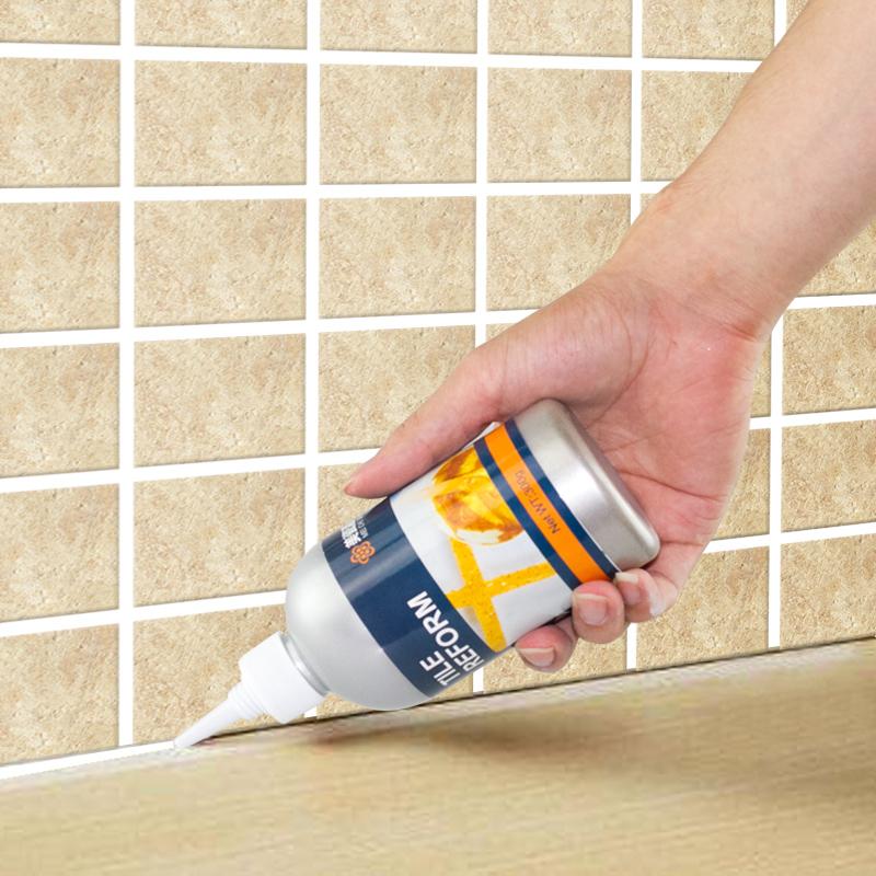 防水玻璃胶_浴室卫生间墙面地板瓷砖美缝填缝勾缝替代玻璃胶清洁剂防水防霉