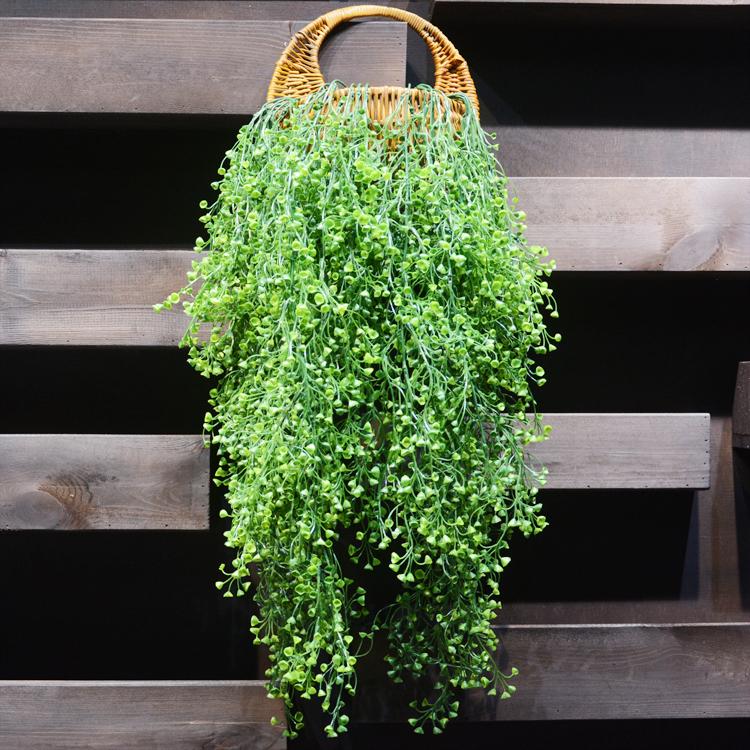 风铃吊藤壁挂植物 仿真花藤假树叶吊顶藤条藤蔓装饰 花无缺图片