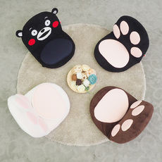 Cartoon cute cats and bears lazy couch tatami creative single Japanese-style living room removable and washable specials