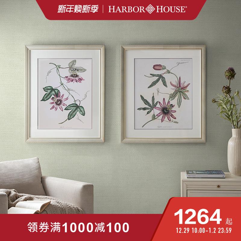 Harbor House美式薰衣草装饰画典雅客厅卧室壁挂画墙画Blooming