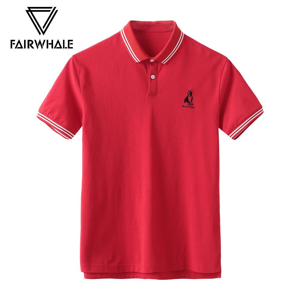(世界杯系列)商场同款马克华菲2018夏新款翻领Polo刺绣短袖t恤