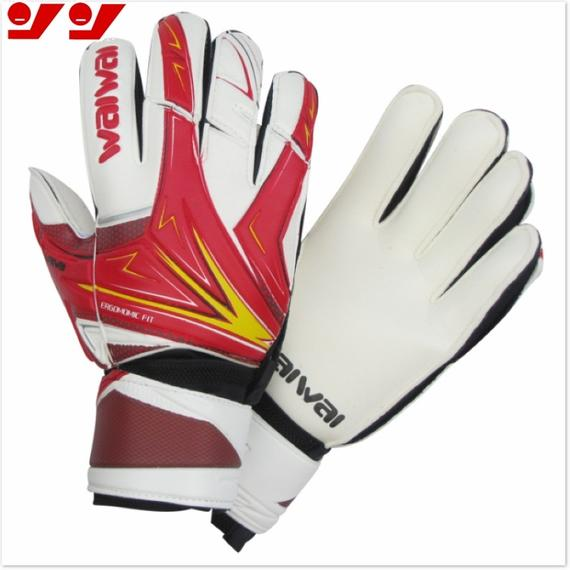 Strong authentic 904 goalkeeper gloves professional football goalkeeper with finger training thick breathable
