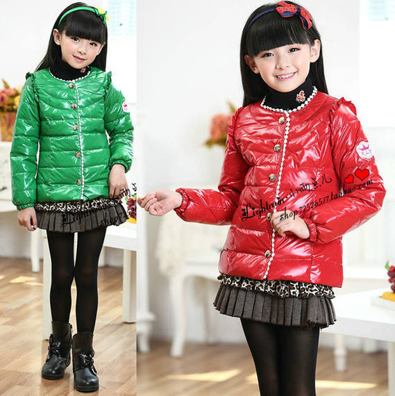 Children's wear new down jacket autumn and winter down liner girls down jacket children down jacket