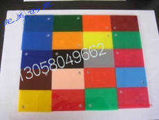 Acrylic swatch Plexiglass plate Transparent plate Plastic plate insulation plate Any size cutting engraving