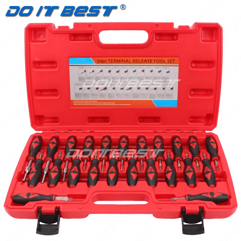 23件汽车线束插头解锁工具 插头端子取出器 退针器