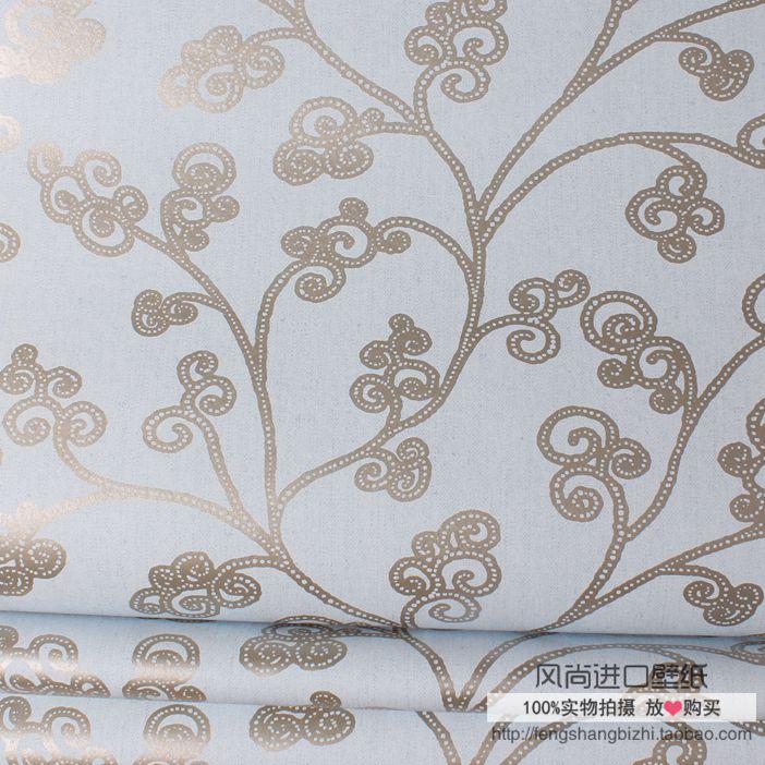 瑞典进口无妨木纤维纯纸壁纸 现货 摩曼 抽象花纹现代背景墙纸