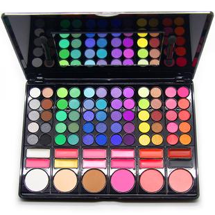正品78色眼影盘大地色彩妆盘 彩妆套装全套组合美妆盒高光修容