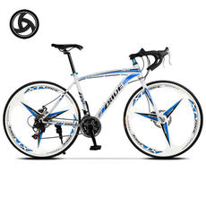 Public line 30/27 speed road bike bicycle bend three-knife one-wheel shift men and women 700c racing car