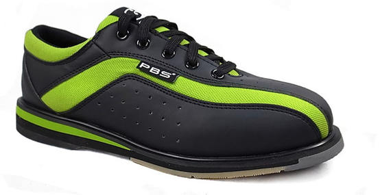 PBS professional bowling shoes sports tide special bowling shoes women models ~ green black