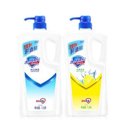 舒肤佳沐浴露 纯白清香1.5L+柠檬清新1.5L 大包装