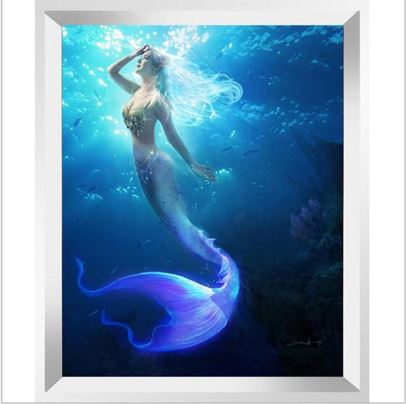 美人鱼 钻石画