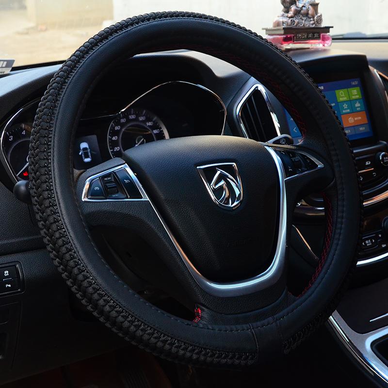 金澳羊18新款汽车方向盘套夏季冰丝四季通用汽车把套防滑汽车用品