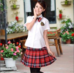 英伦校服套装 韩国制服夏装 日本学生装短袖水手服 韩版女生班服