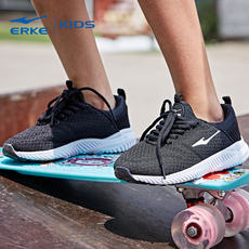 Hongxing Erke official spring new children's shoes men's big children's mesh breathable running shoes children's casual sports shoes