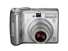 Canon/Canon PowerShot A560 Used Digital Camera with External Power Supply Specials Clearance