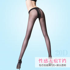 Ultra-thin summer T-pants pantyhose candy color invisible socks stovepipe anti-hook off silk stockings stockings stockings