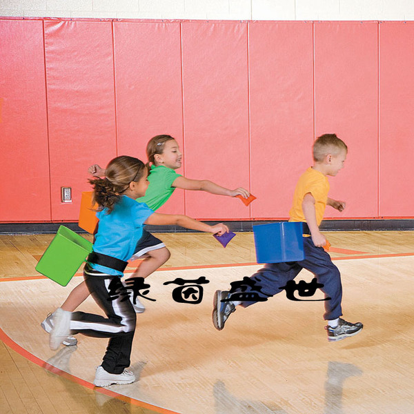 水桶 追逐游戏盒幼儿园感统训练扔沙包投掷桶