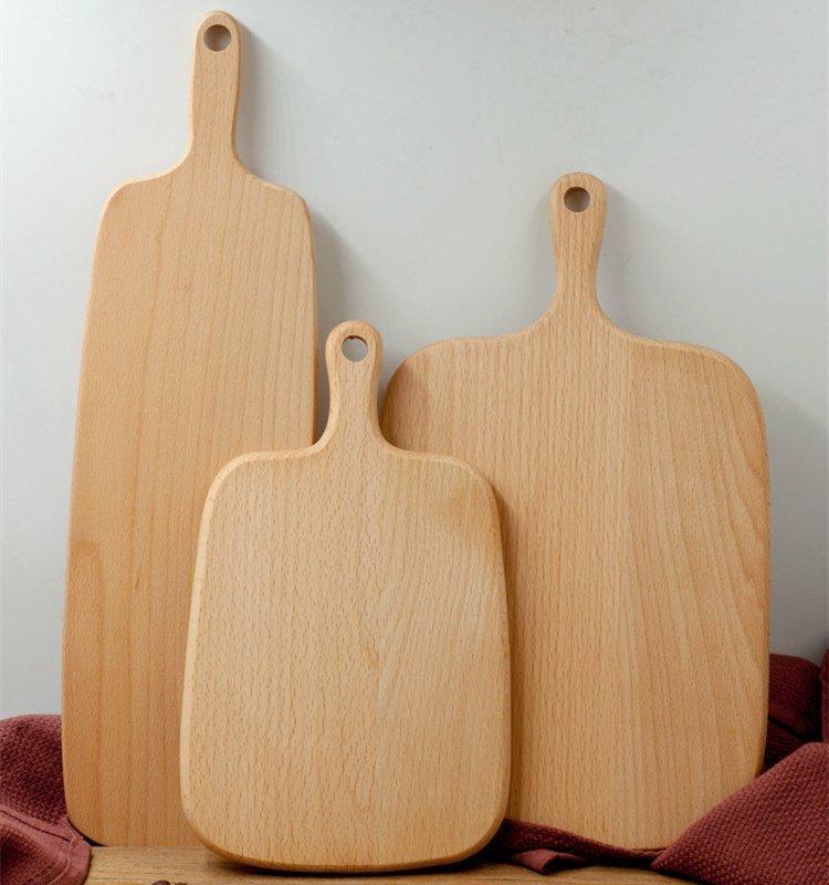 实木托盘披萨板切菜板实木砧板厨烘焙用具面包板木水果砧板寿司板