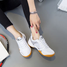 New Effortless travel shoes breathable skid Korean men and women couples shoes tendon at the end of badminton shoes 3089