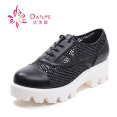 Daphne/ Daphne 16 spring new casual deep network mesh hollow bird's nest women's shoes 1016101003