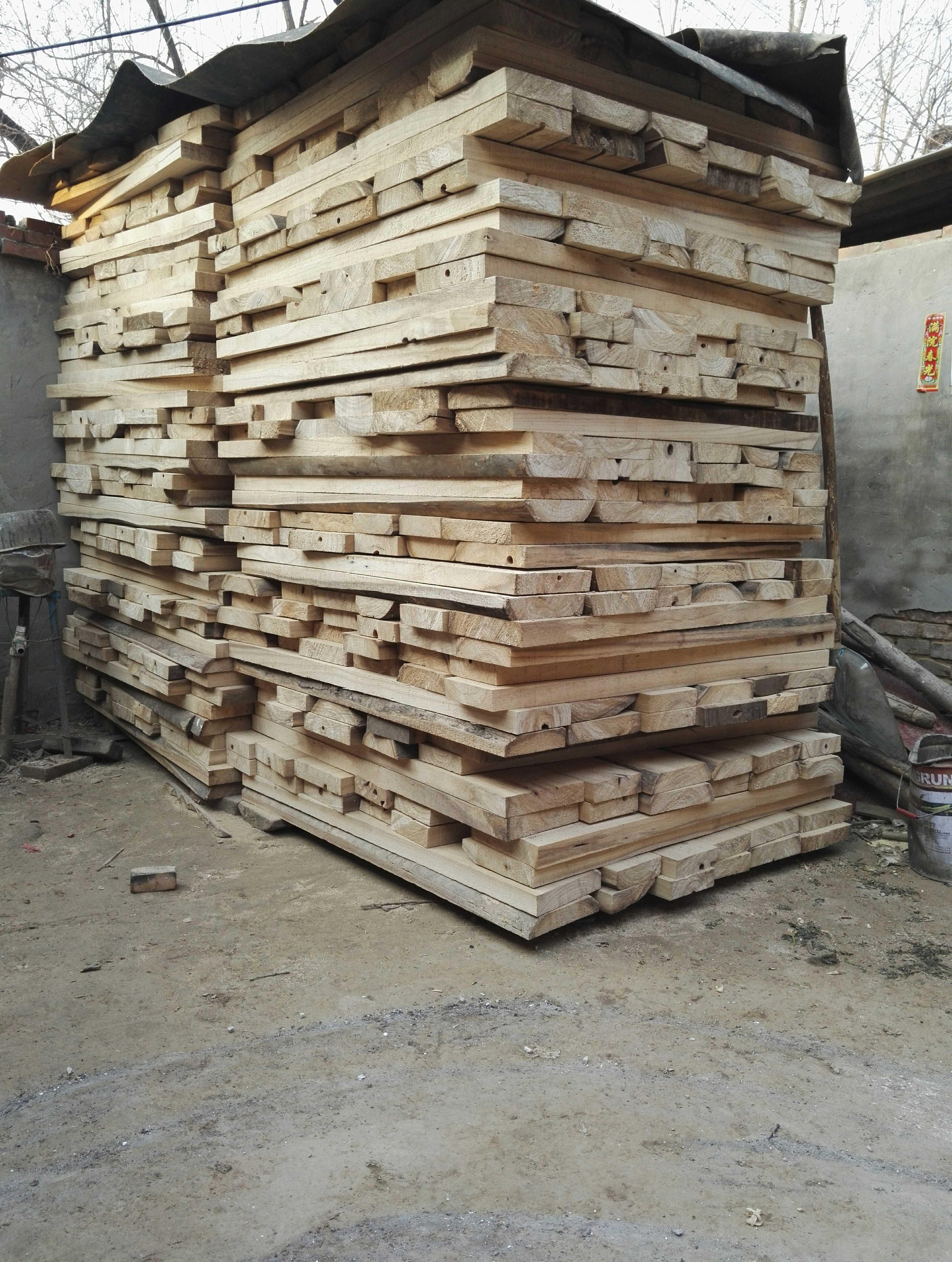 古琴面板兰考泡桐木老房梁料古琴材料斫琴材料