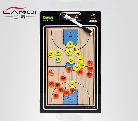 Portable basketball football tactic board coach command board competition training equipment magnetic rewritable folding book