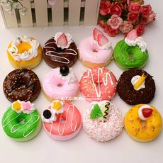 Simulation food donut fruit cake model props food toys wedding wedding decorations ornaments recommended