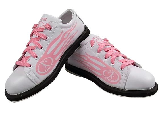 New product specials! US ELITE elite special bowling shoes women's left and right hand shoes flame models