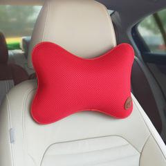 小蜗汽车头枕记忆棉夏季透气护颈枕车用座椅通用靠枕套装内饰用品