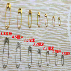 Golden Insurance Pin Yellow Size Security 000 Mini Invisible Clothing Tag Accessories Accessories