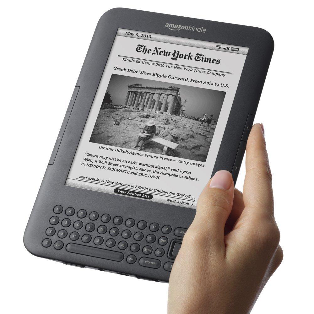 【送充电器】亚马逊kindle3电子书阅读器k3电纸