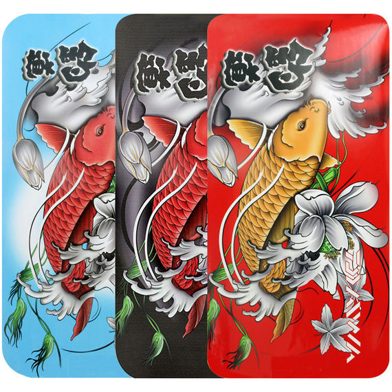 3D three-dimensional 3D three-dimensional fishing box stickers crystal fishing box cover protective film waterproof wear-resistant side stickers cover fishing gear