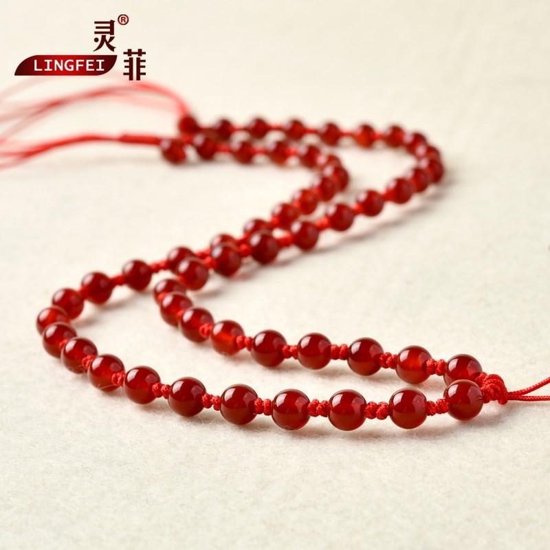 吊坠项链挂绳 挂坠玉坠玉佩翡翠挂件手工编织绳黑红绳子男女