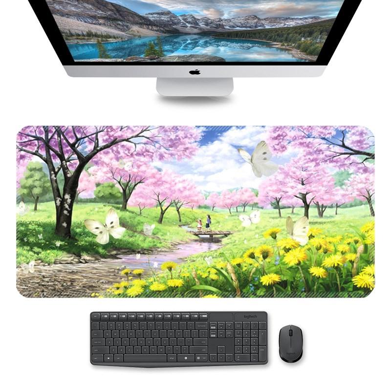 超大鼠标垫 120 60书桌垫100cm50cm桌面宿舍电脑办公写字动漫定制
