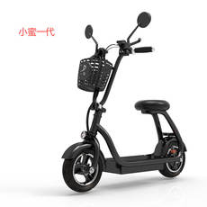 Promotion One electric scooter adult small step folding female light portable with mini electric car