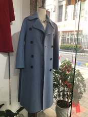 Fashion element double-sided 昵 cashmere coat factory direct sales