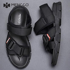 2019 new men's shoes summer breathable sandals soft bottom fashion trend casual shoes outdoor non-slip lightweight beach shoes