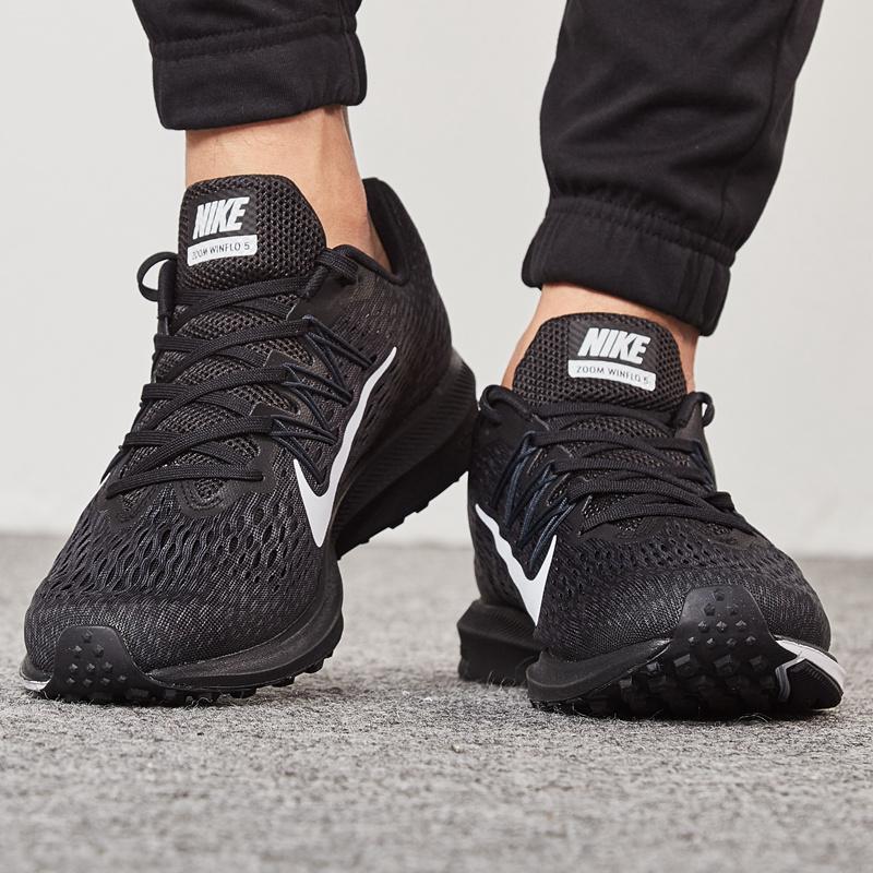 NIKE耐克鞋男鞋女鞋2019黑武士Zoom气垫运动鞋跑鞋透气休闲跑步鞋