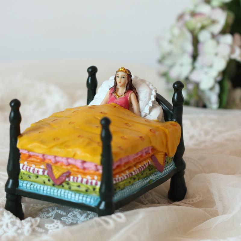 致青春道具 情人節女朋友六一兒童節豌豆公主擺件生日禮物