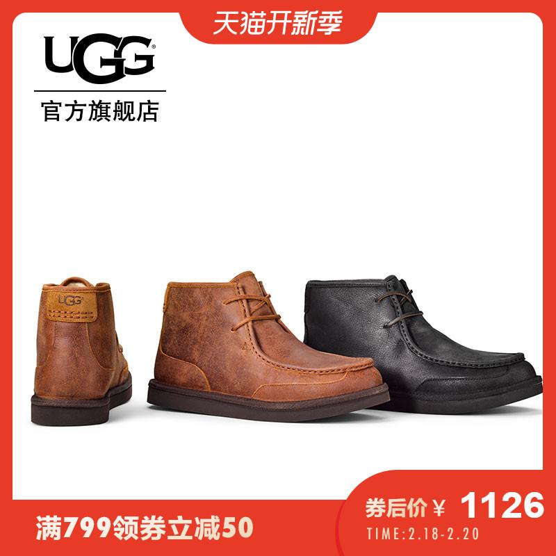 UGG秋季新款男士靴子多尔西系列休闲商务短靴 1012372