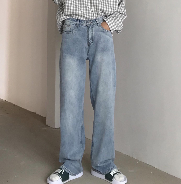 QIQUYU 必入的拖地牛仔裤 今年超火