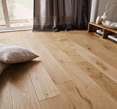 Real log surface oak multi-layer three-layer solid wood composite geothermal environmental protection floor lock Nordic MUJI true color
